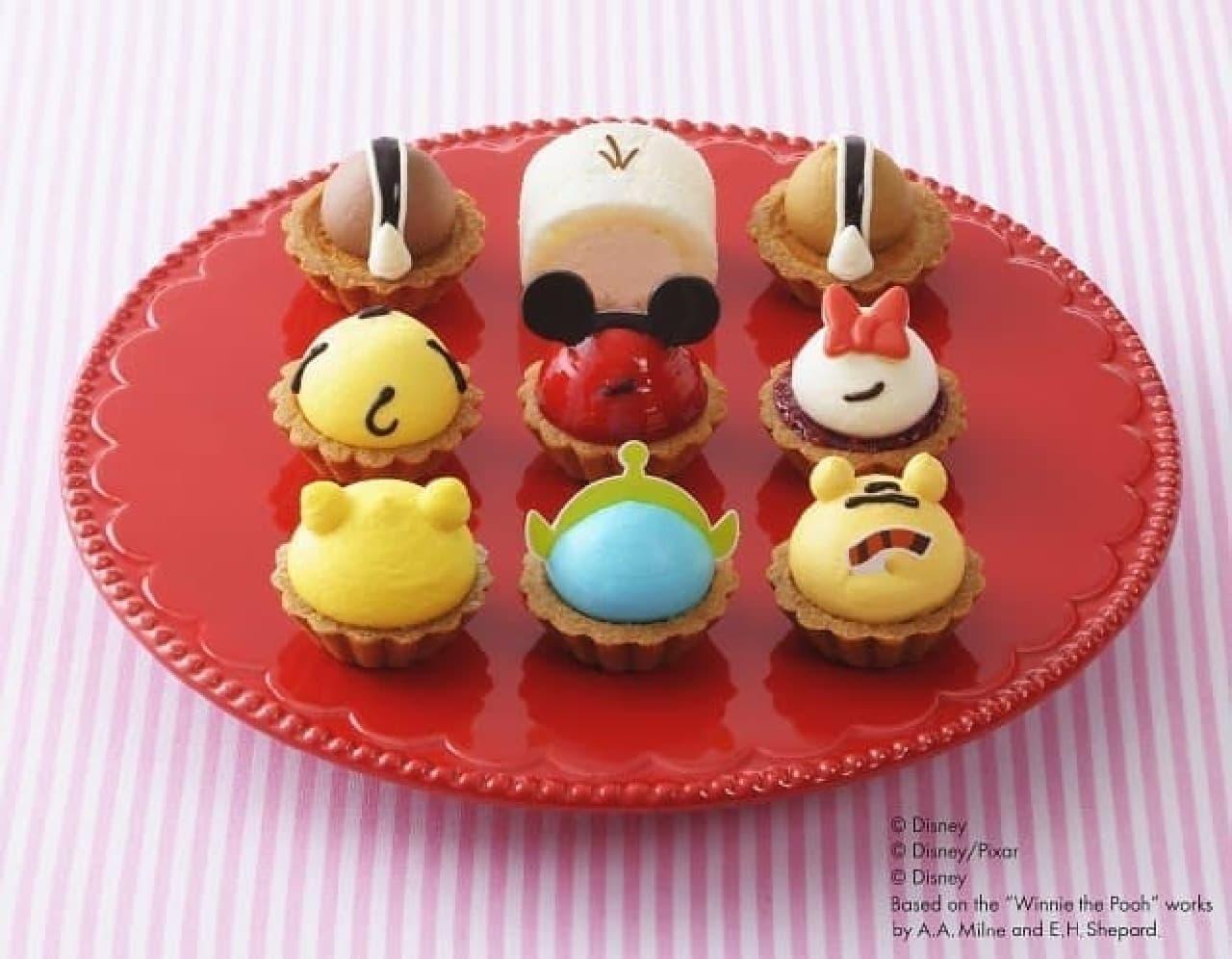 ディズニーツムツムのプチケーキ!