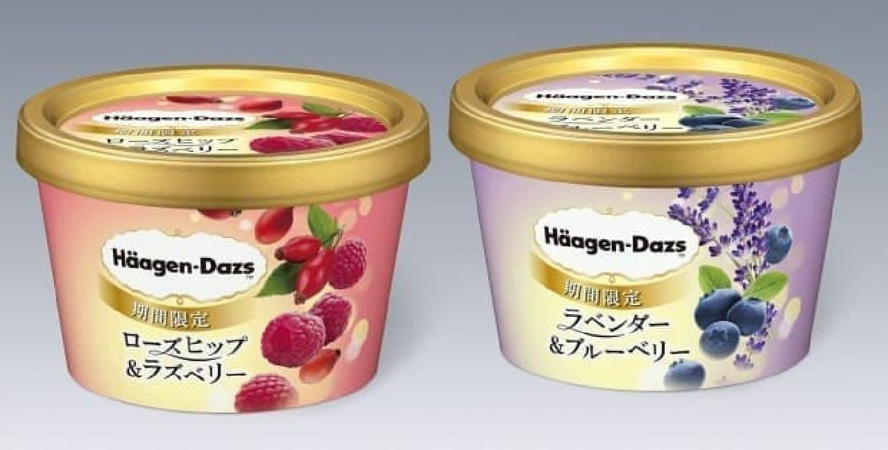 """新作は""""ハーブ""""を使ったアイスクリーム"""