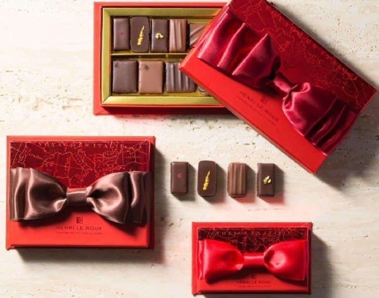 アンリ・ルルーのバレンタイン限定ショコラ