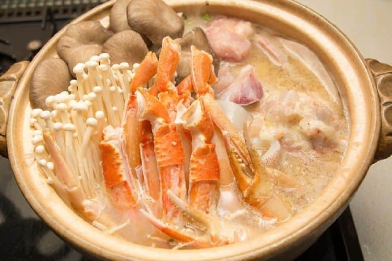 北海道「ほっかい蟹鍋」(イメージ)