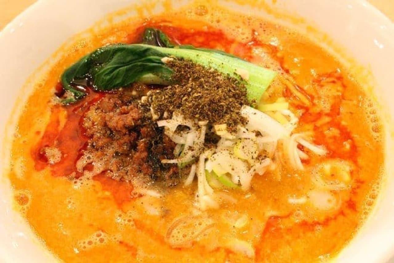 「ごまる担々麺」(辛さ:レギュラー)