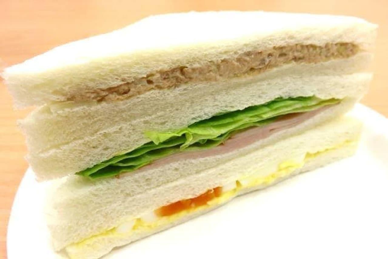 ローソンのサンドイッチがリニューアル!