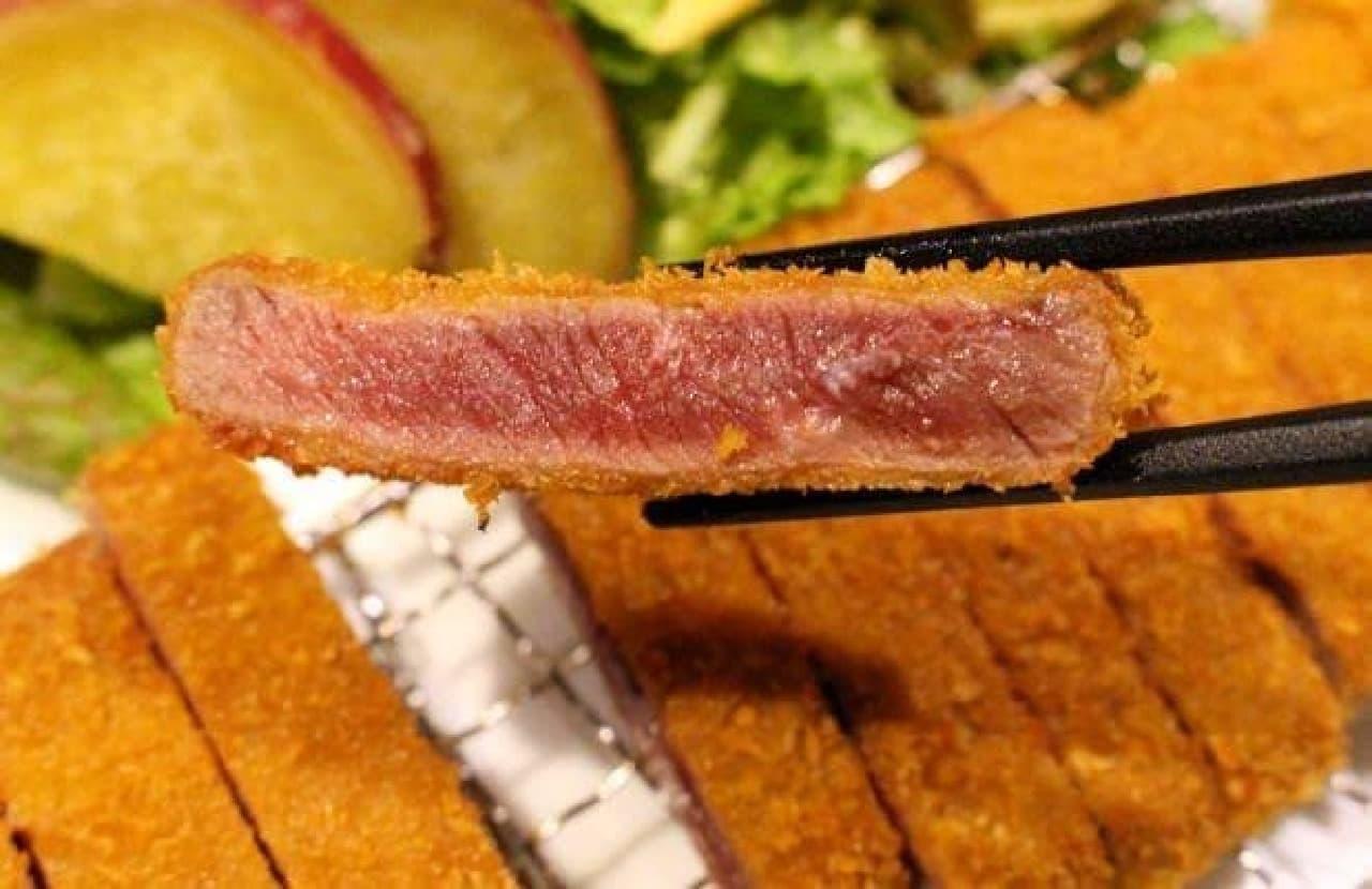 見よ、この美しい肉の断面を…!