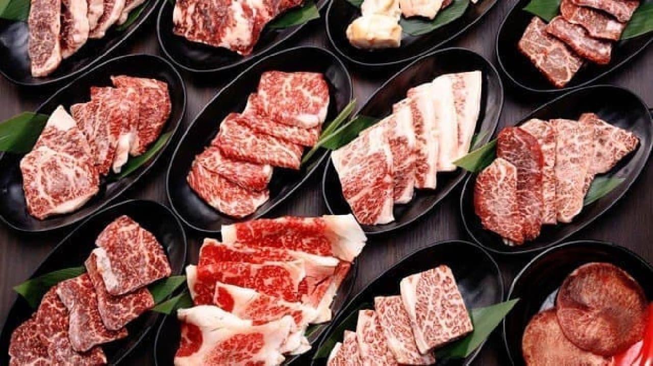 肉を1枚から注文できるのが嬉しい