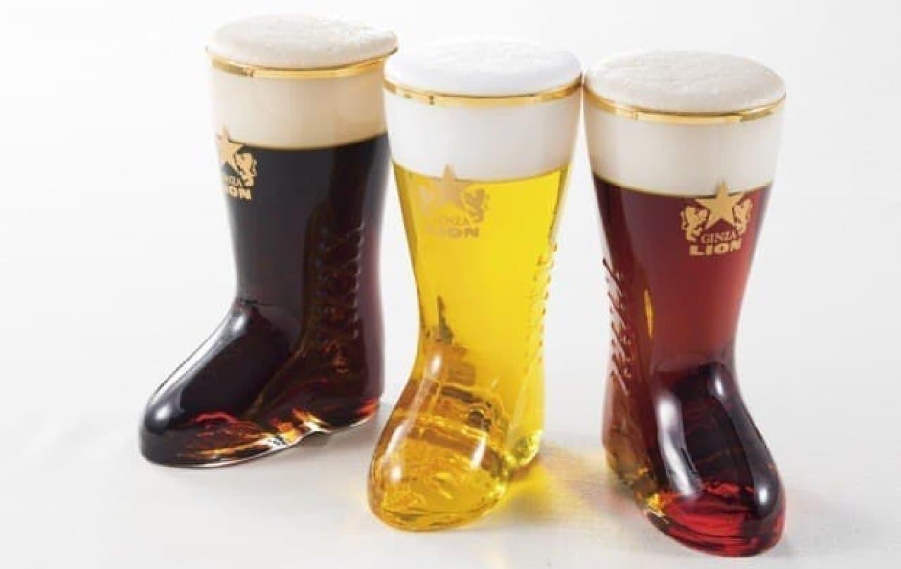ヱビスビール3種 ミニブーツグラスde飲み比べセット