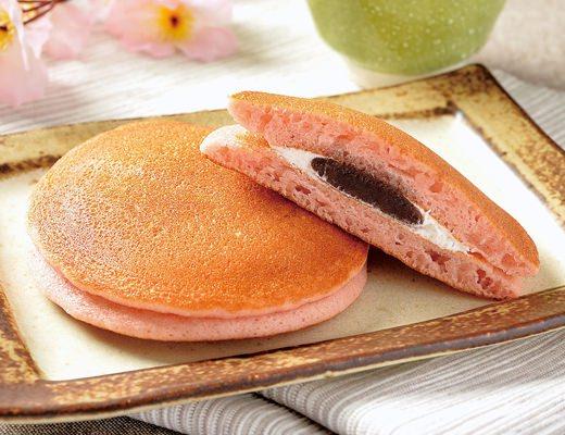 「桜香るパンケーキ(桜あん&ホイップ)」