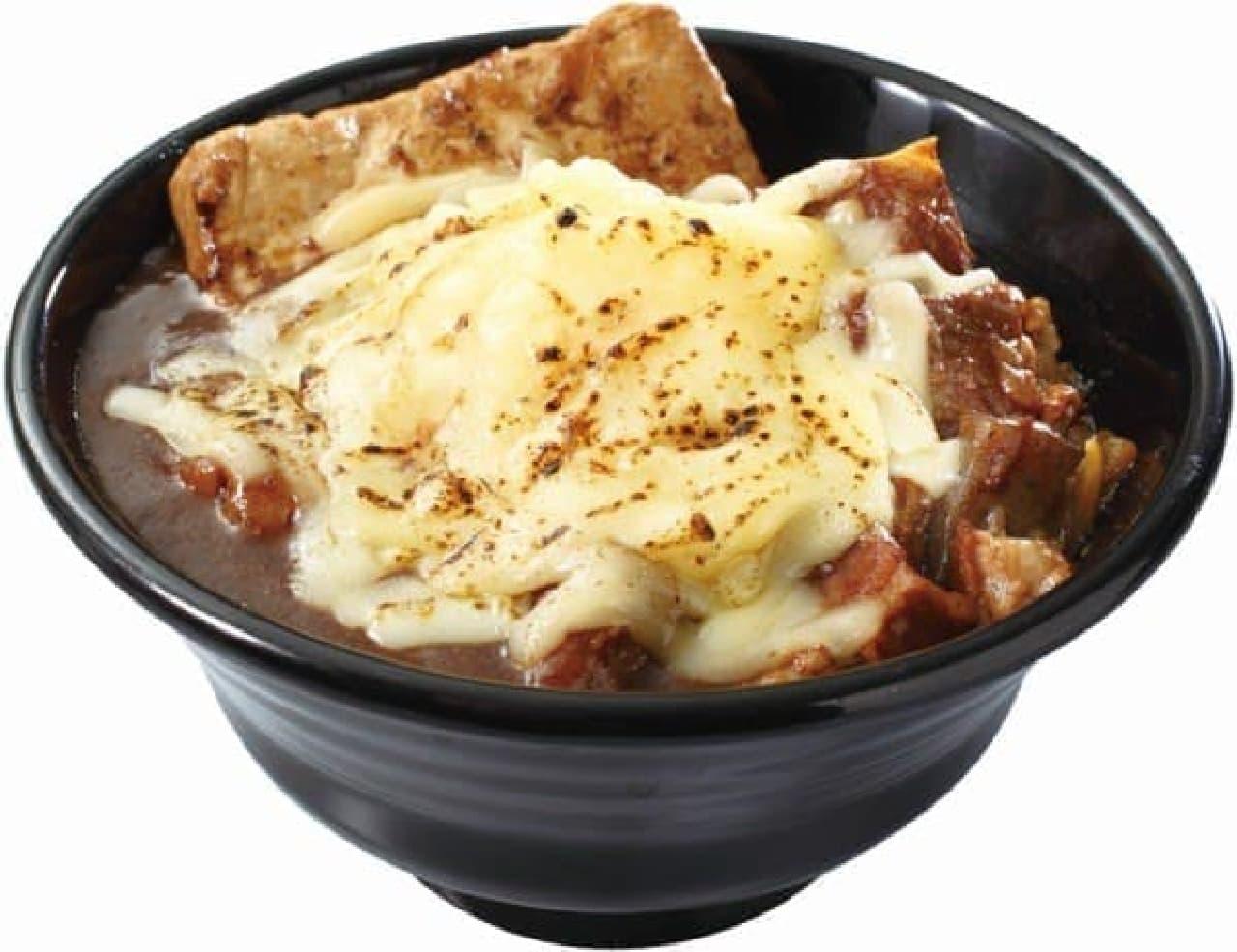 味噌×カレー×チーズも相性抜群
