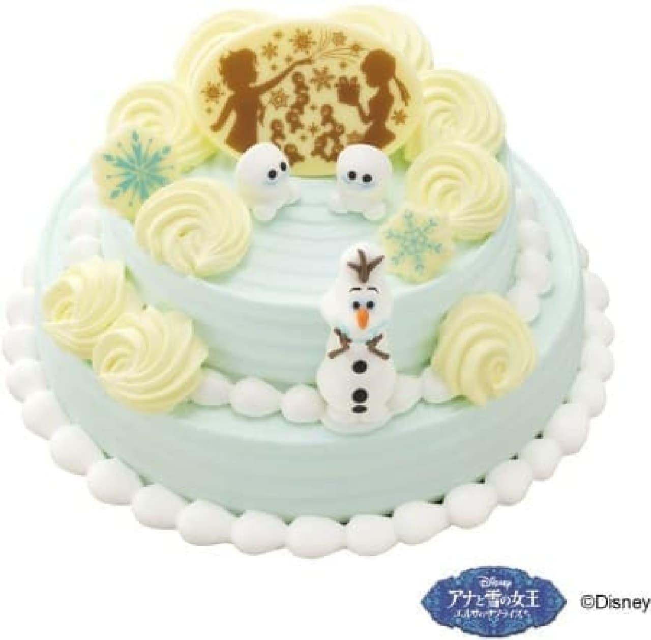 スクリーンに登場したケーキを忠実に再現!?