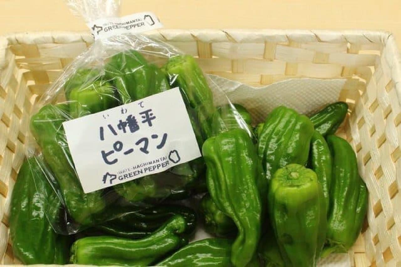 """真冬の岩手県で、""""エコなピーマン""""がとれました"""