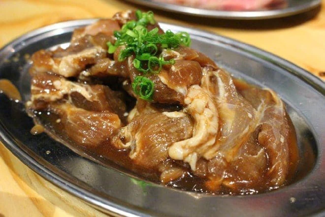 首元の肉「せせり」