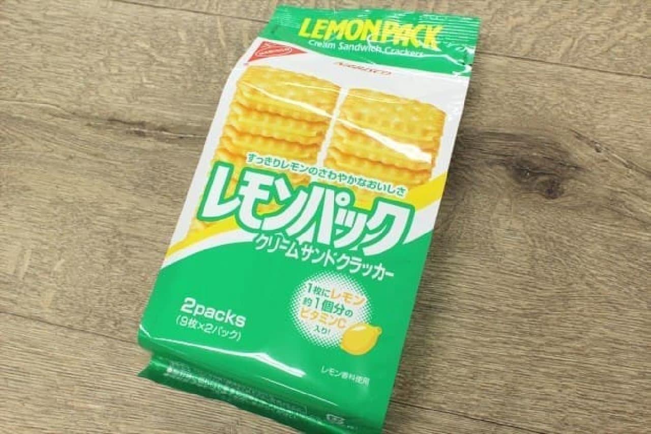 ヤマザキナビスコの「レモンパック」