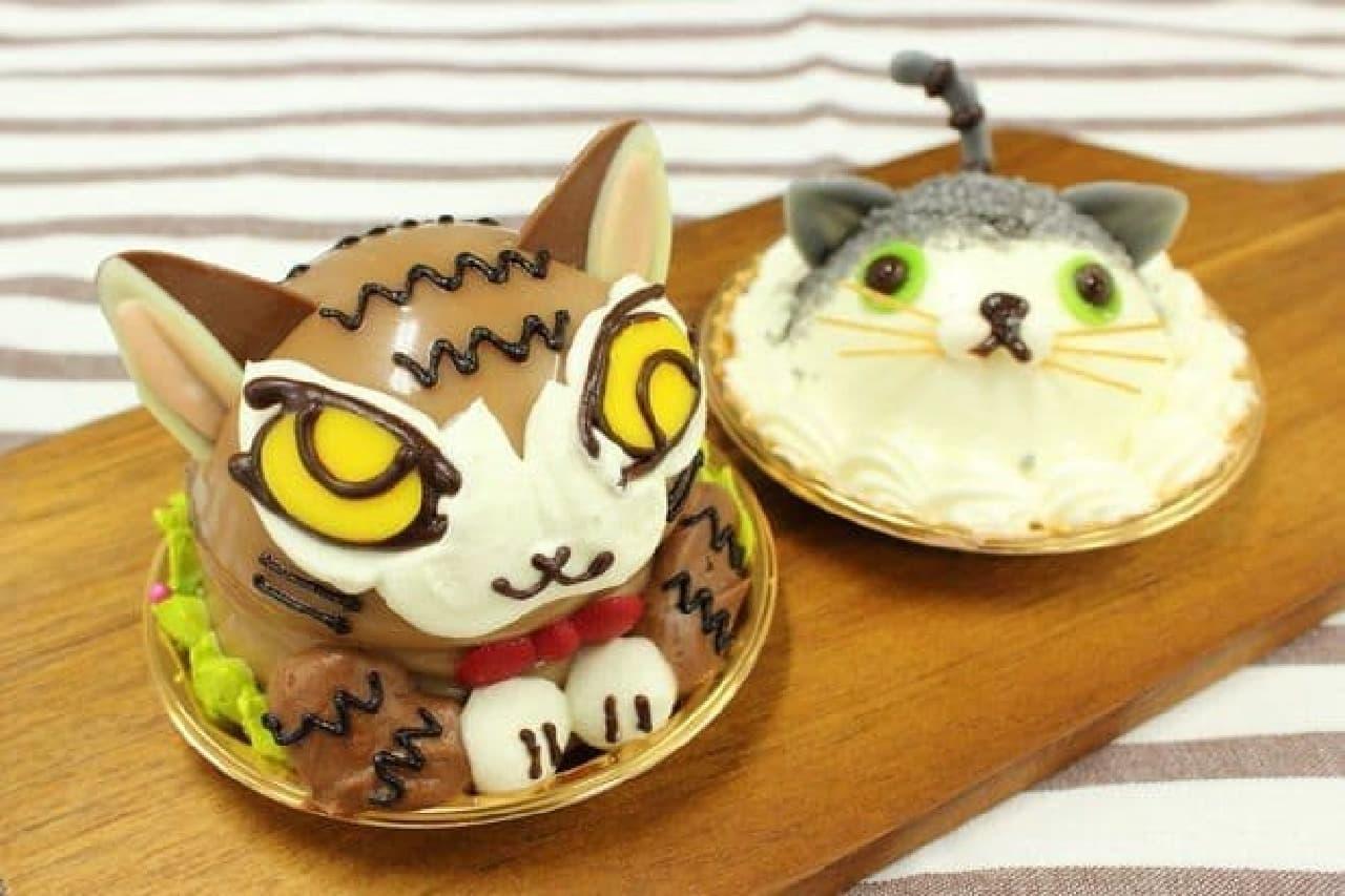 """話題の""""猫ケーキ""""が悶絶するほどかわいい"""