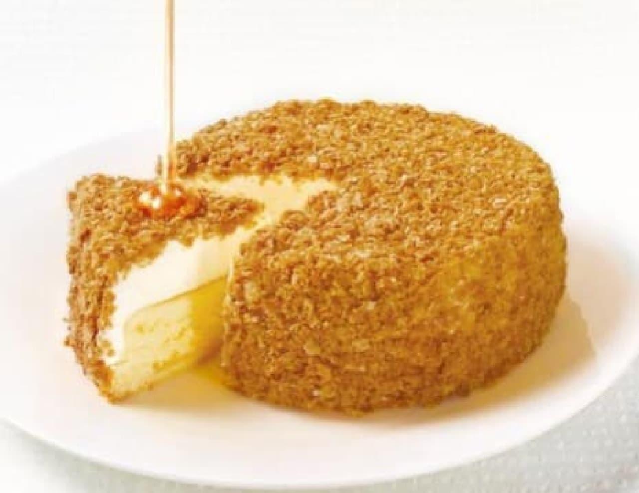 「ダブルチーズケーキ~メープル添え~」