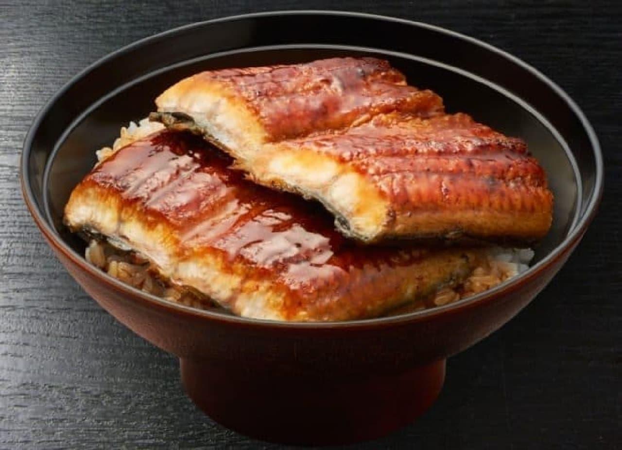 7種の魚介だれ すしやの特上うな丼