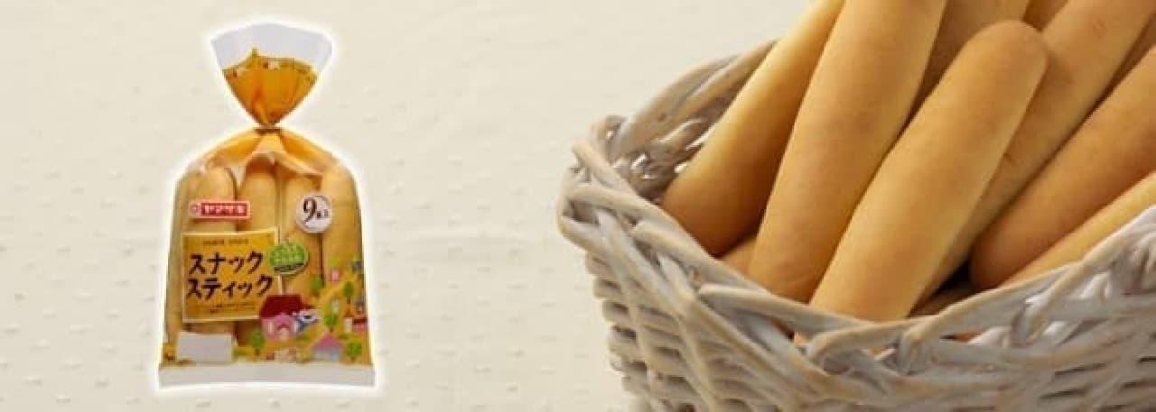 気づけば食べつくしてるスナックスティック  (出典:山崎製パン公式サイト)
