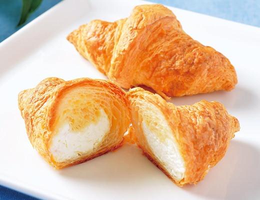 「ミニクロワッサン(レアチーズクリーム2個)」