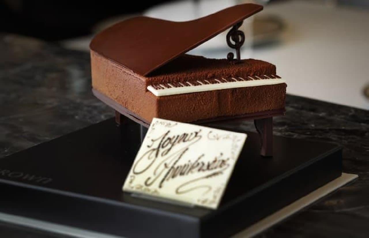 繊細すぎるチョコレートデザート