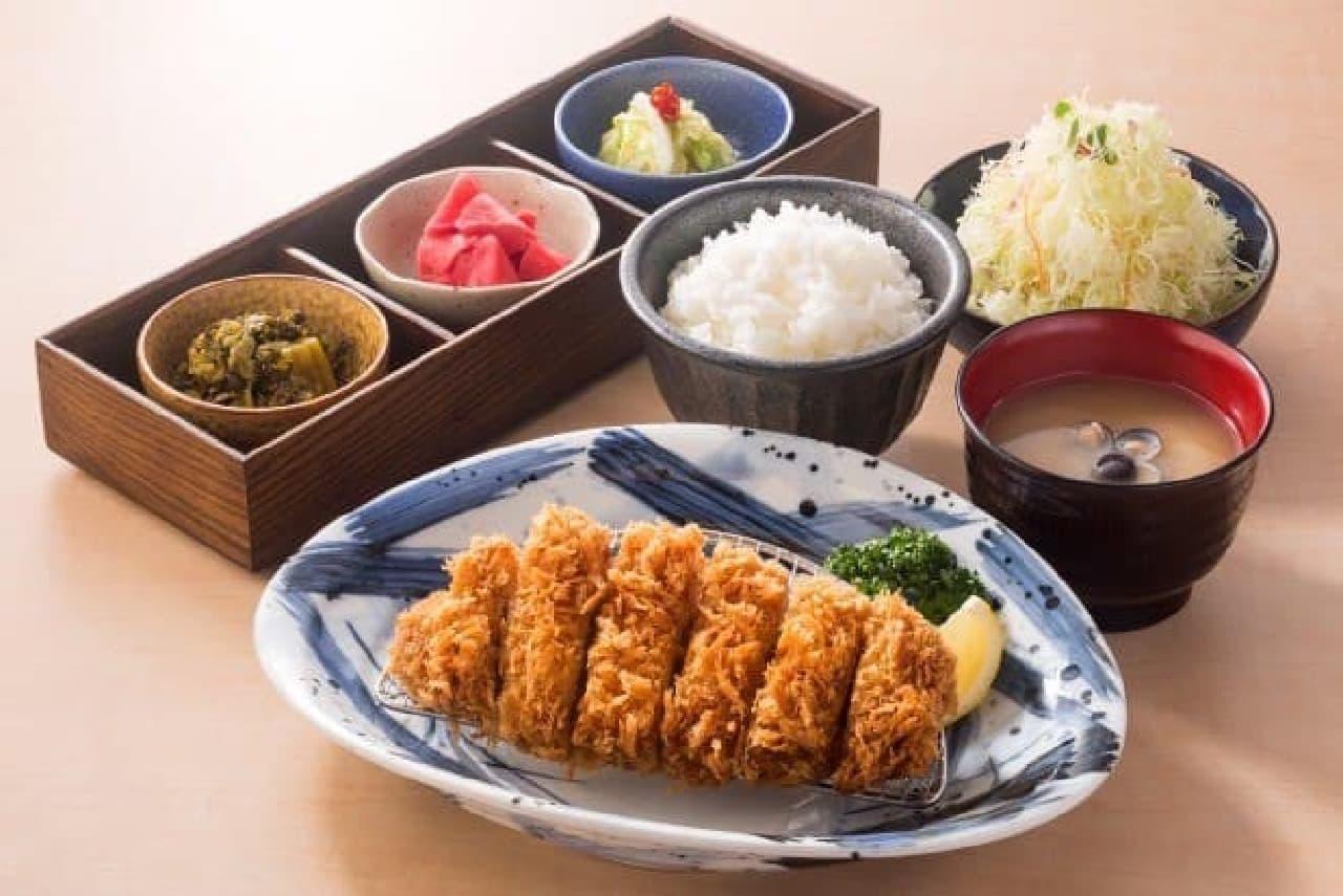 林SPFロースかつ(定食セット)