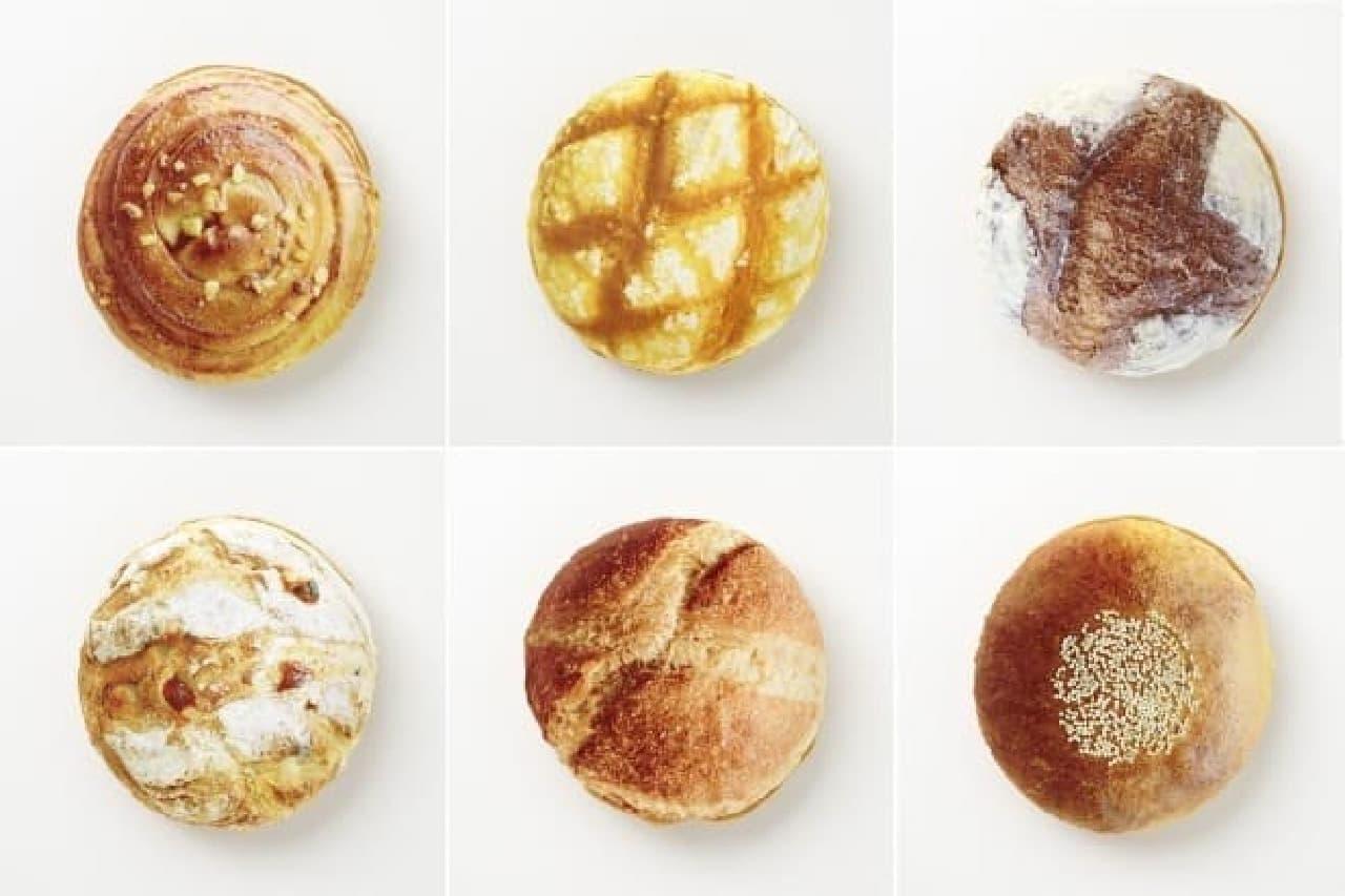 リアルすぎるパンのデザインは全6種!