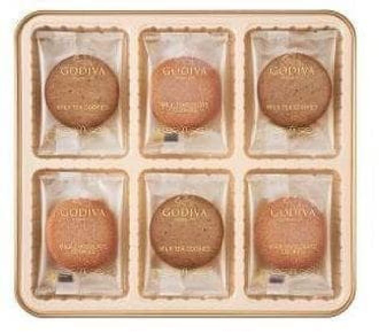 ミルクティークッキーアソートメント  (画像は18枚入り)