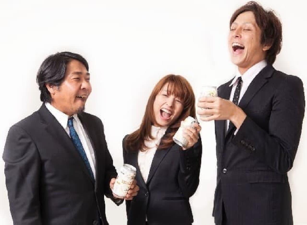 8割以上の若手が先輩や上司と飲みに行きたい?