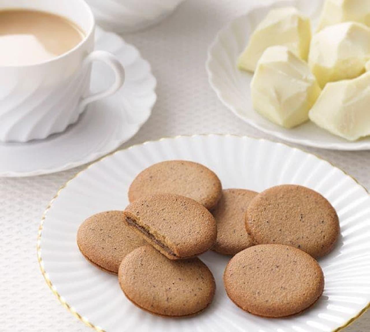 ゴディバオリジナルクッキーに「ミルクティークッキー」登場  華やかなアールグレイの香りを楽しめる