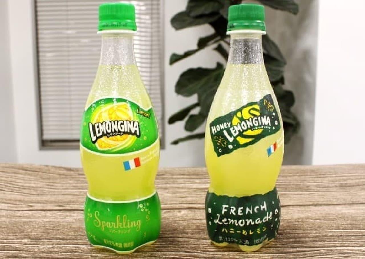 左がレモンジーナ、右がハニーレモンジーナ