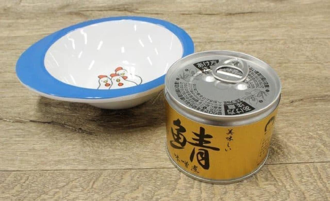 缶詰専用のお皿があると便利