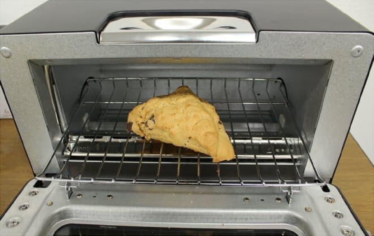 温め時間はオーブンorトースターで2~3分