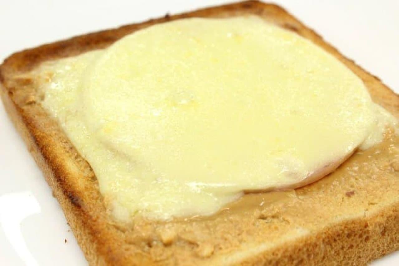 定番ハムチーズトーストにプラス!