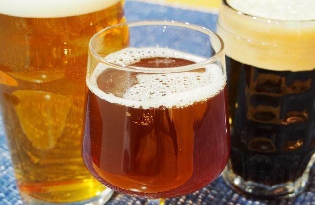 自家醸造のオリジナルビール