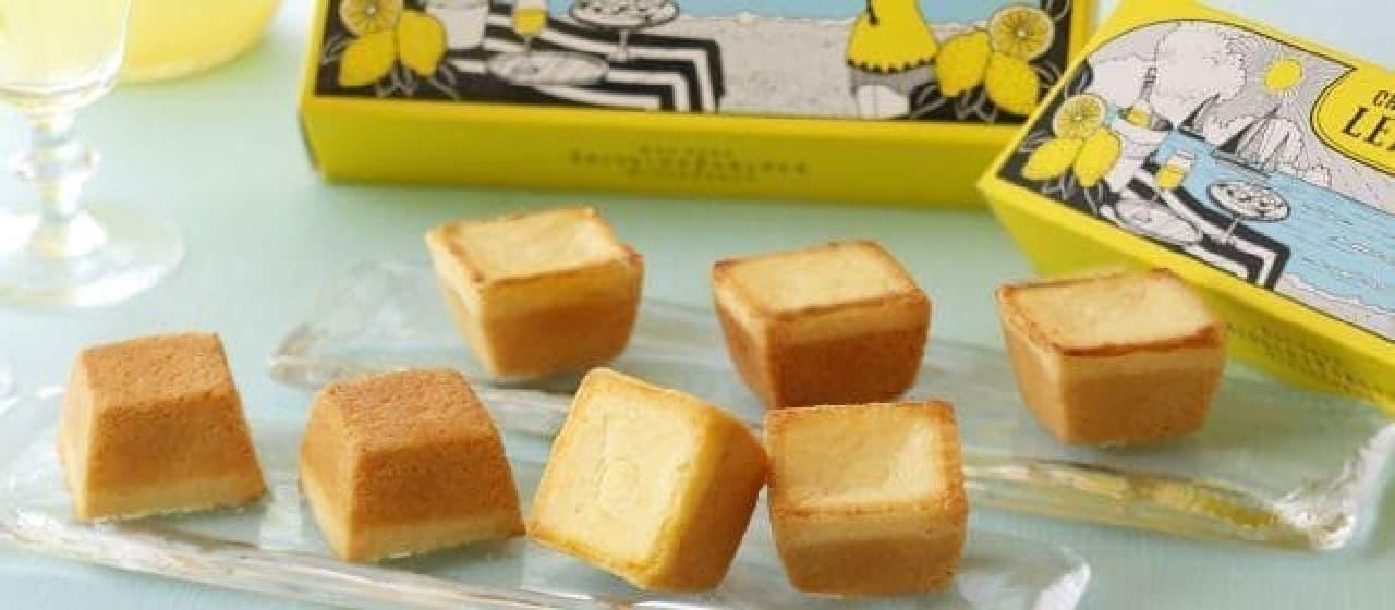 レモンの風味豊かな「夏のチーズケーキ(レモン)」