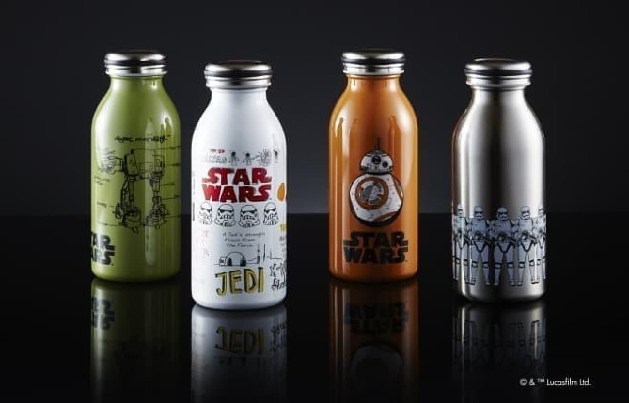 『スター・ウォーズ』の世界観が表現されたステンレスボトル