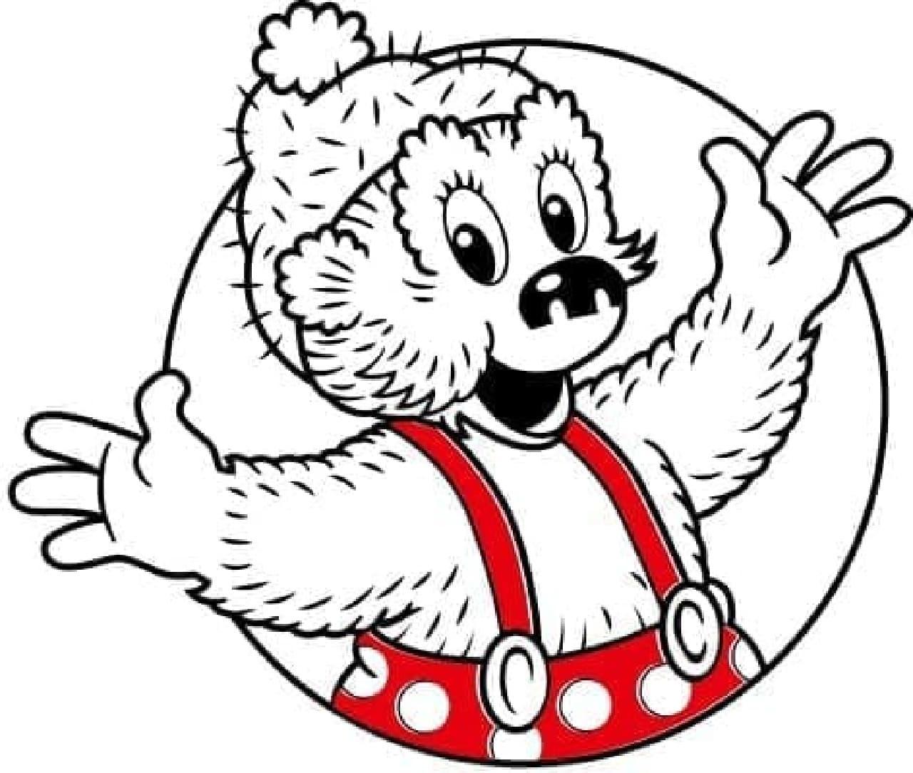 クマのキャラクター「ラスムス クルンプ」