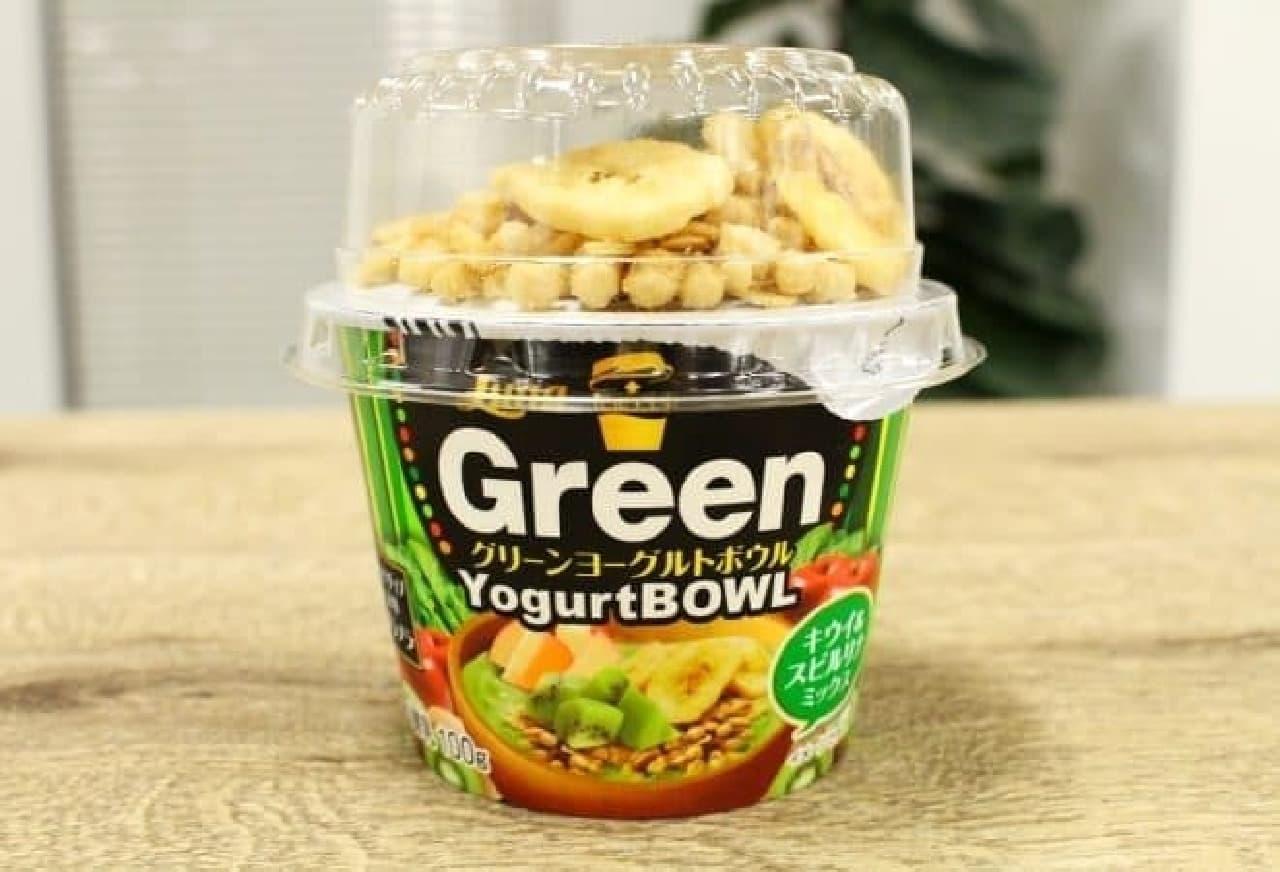 1食あたり140kcalのグリーンヨーグルトボウル
