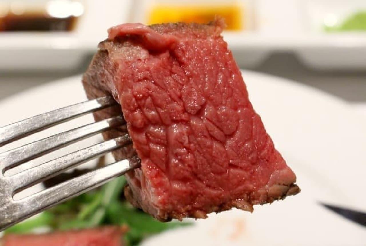 見てくださいこの肉汁感!
