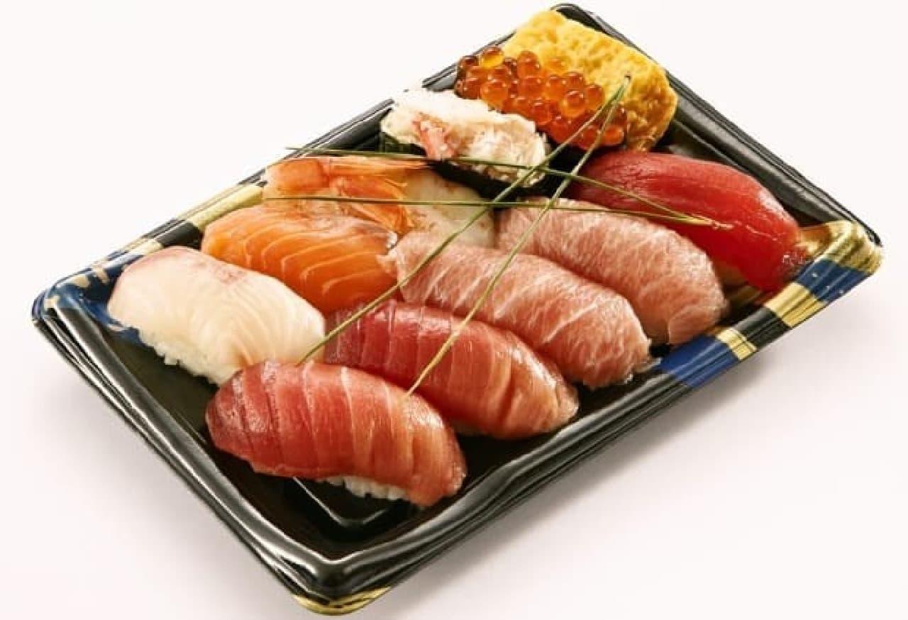 本格お寿司をお手頃価格で!
