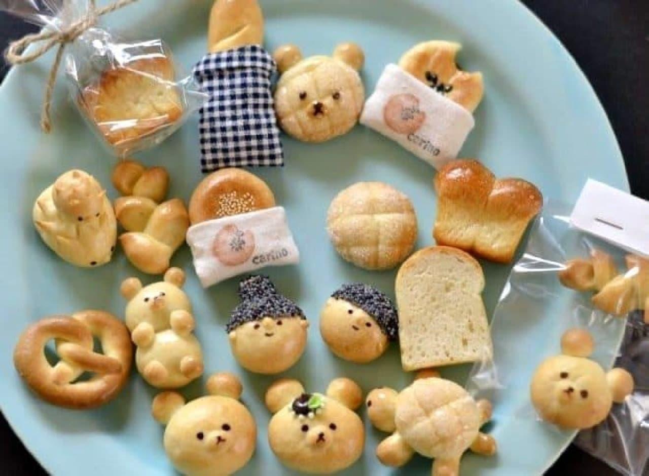 """""""食べられない""""パンたち、可愛すぎて爆買いしそう  (出典:メロンパンフェスティバル公式Facebook)"""