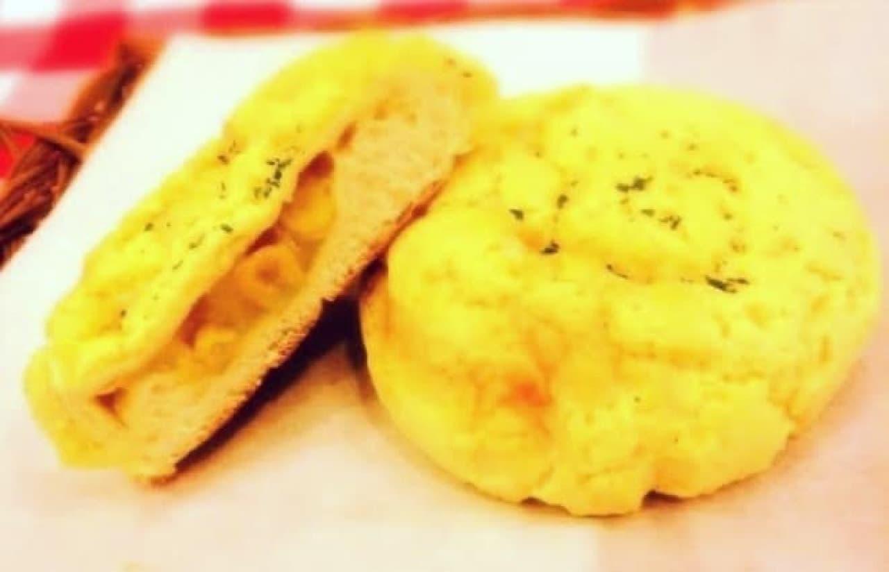 コンポタメロンパン、濃厚なおいしさが楽しめるとか