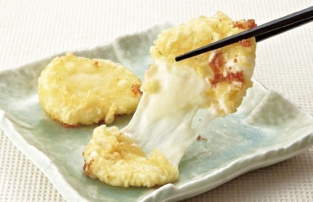 モッツァレラチーズの天ぷら