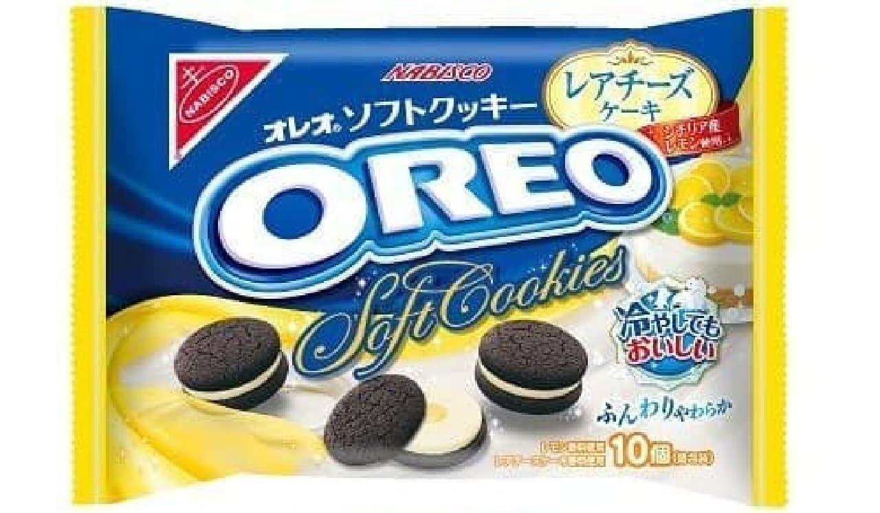 「オレオソフトクッキー レアチーズケーキ」