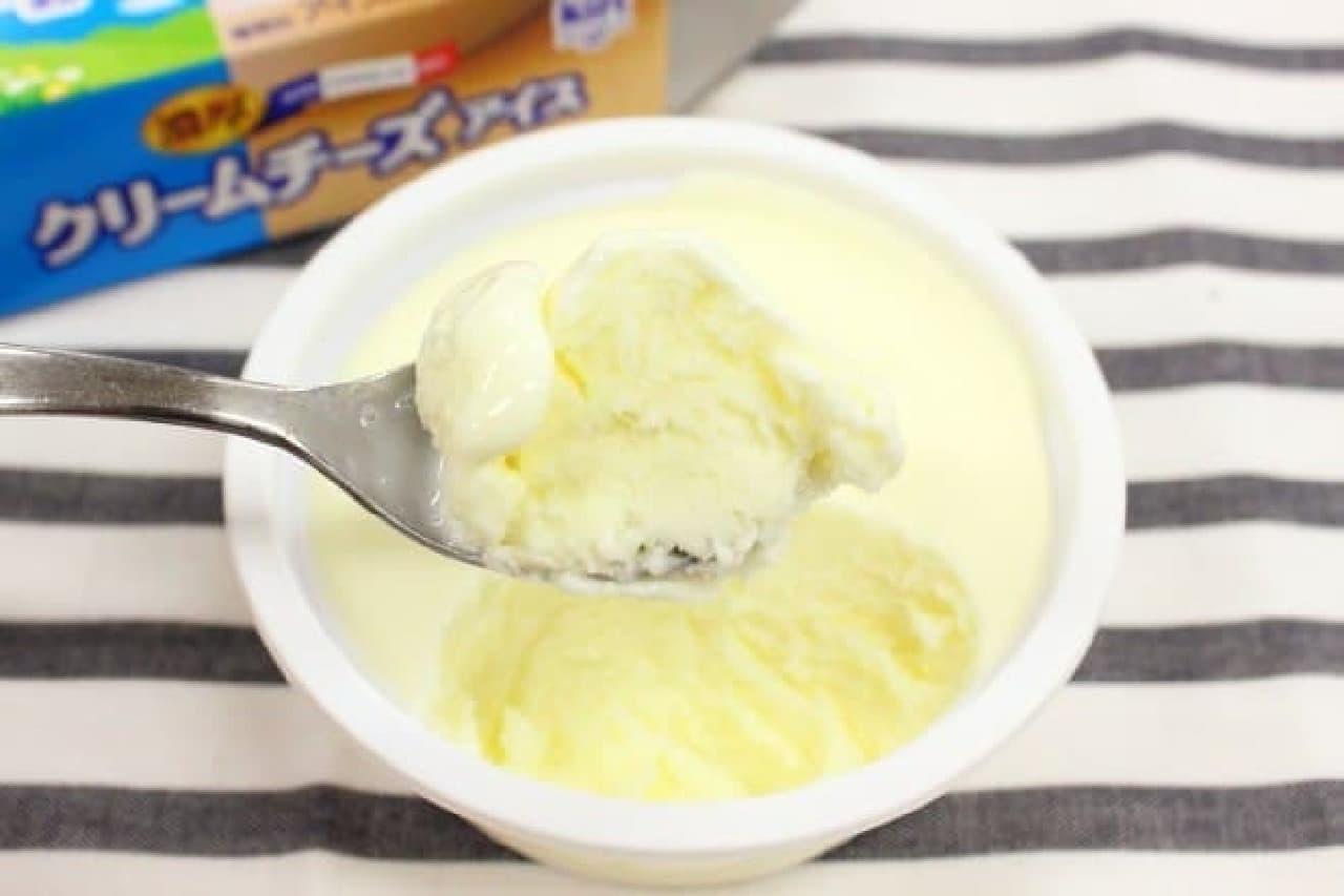 ローソン、kiri濃厚クリームチーズアイス2015年1月発売時