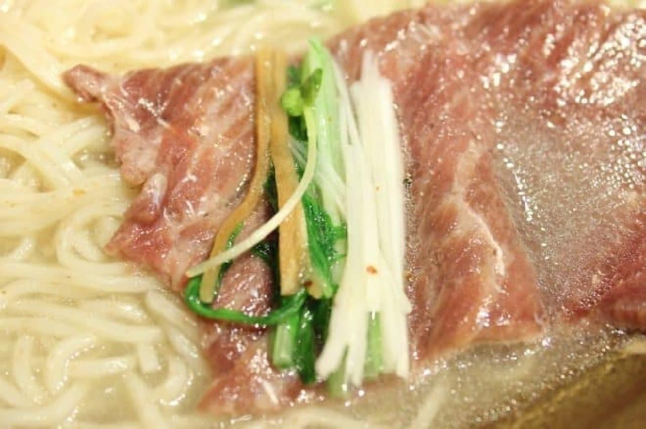 麺屋武蔵20周年記念「金乃武蔵」鯨ら~麺