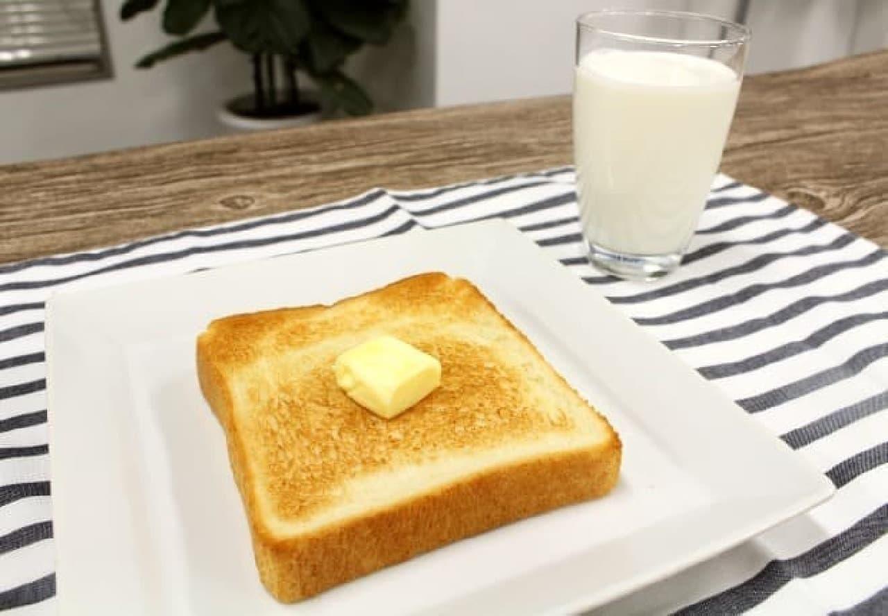 今までの朝食が