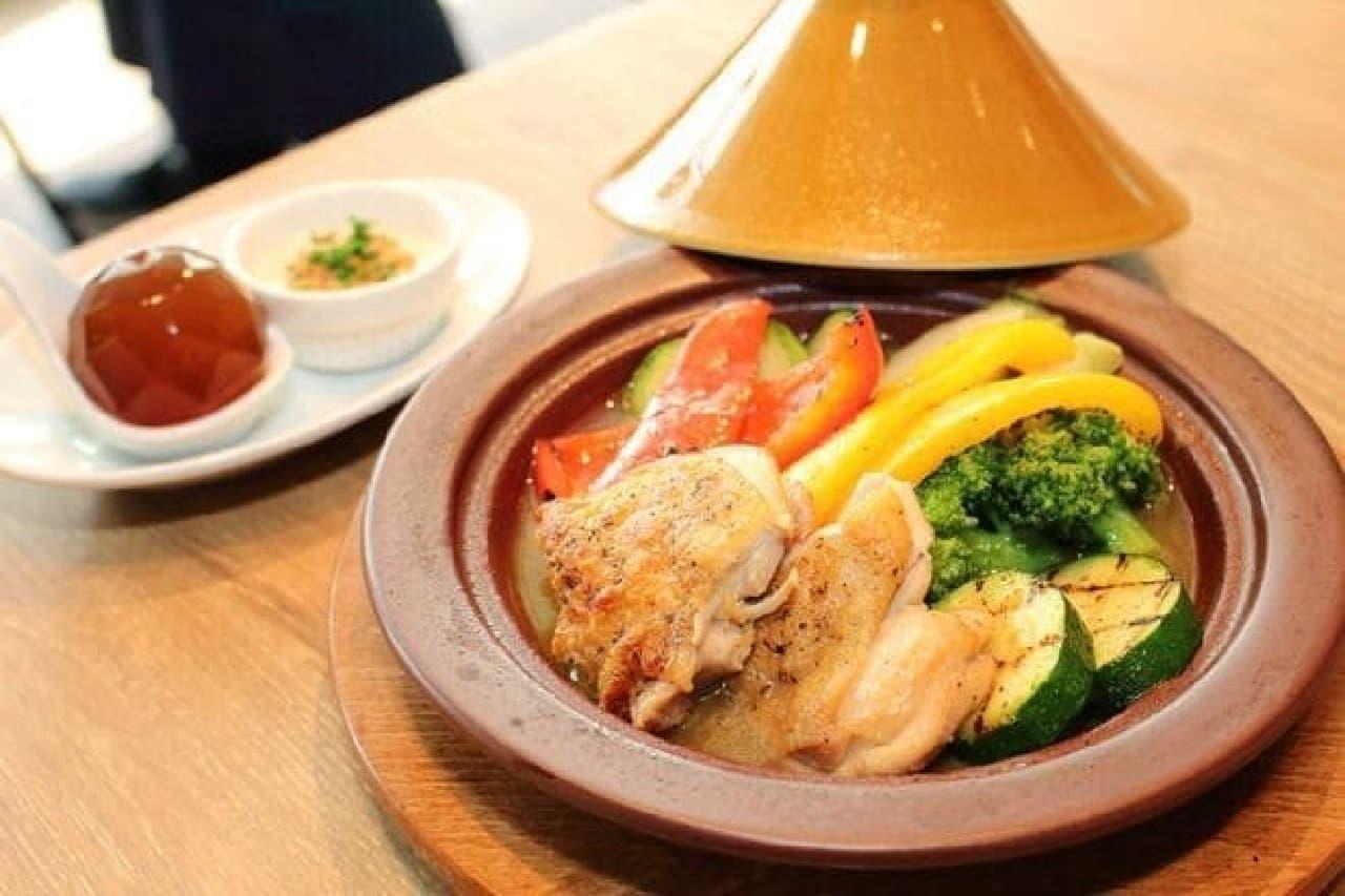 野菜たっぷりのタジン鍋