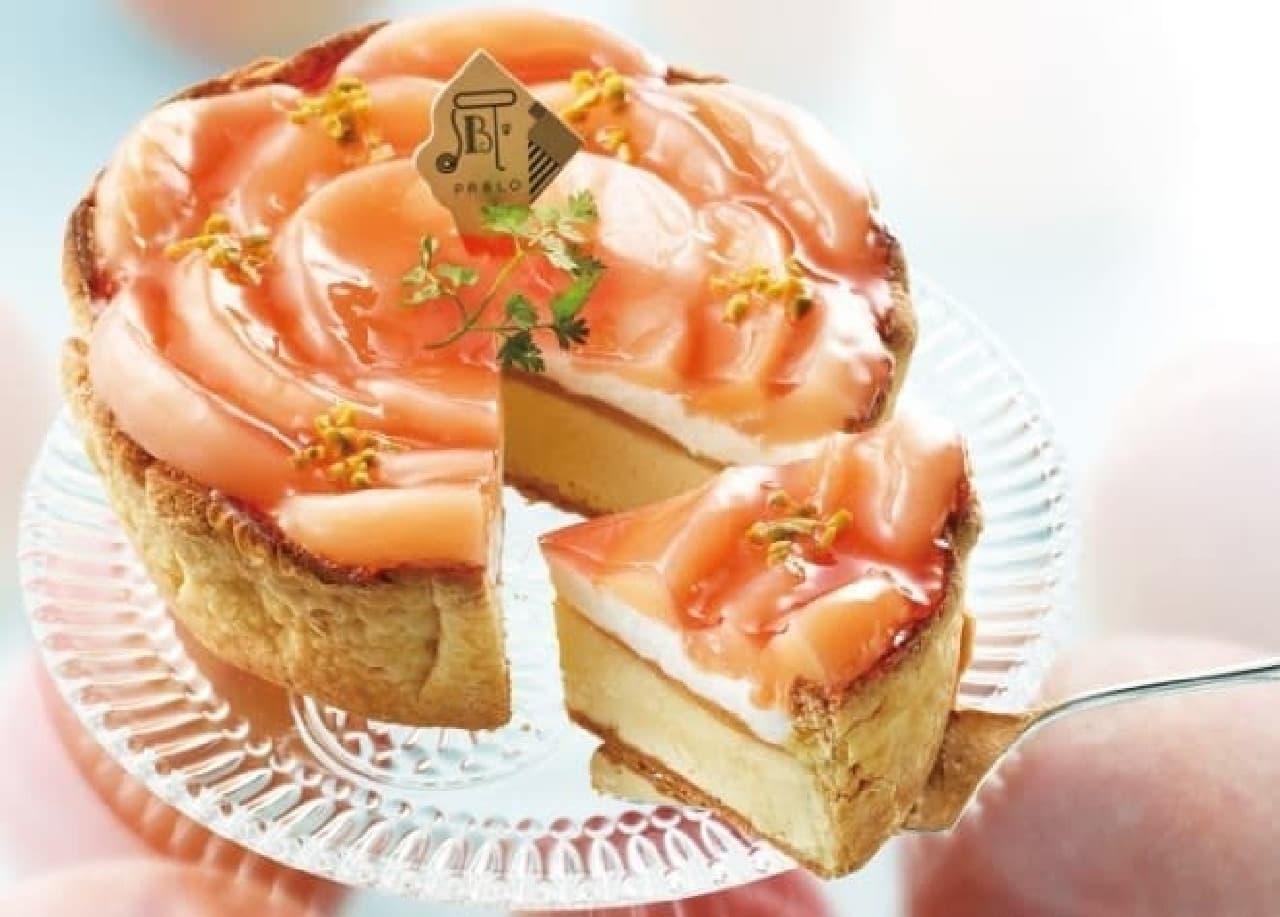 白桃の上品な甘さが存分に楽しめる