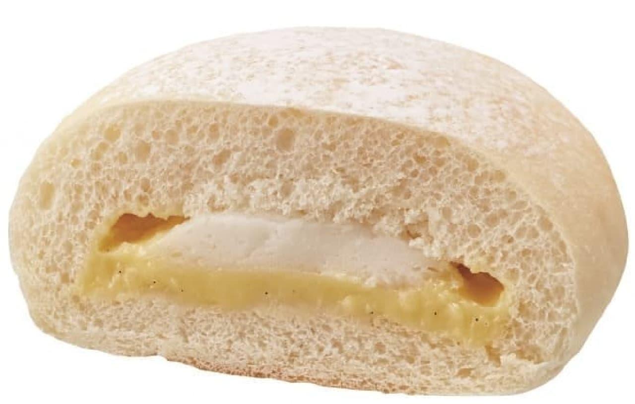 おもちみたいなカスタードクリームパン