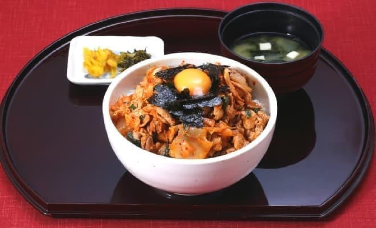 豚キムチ丼 ダブルサイズ