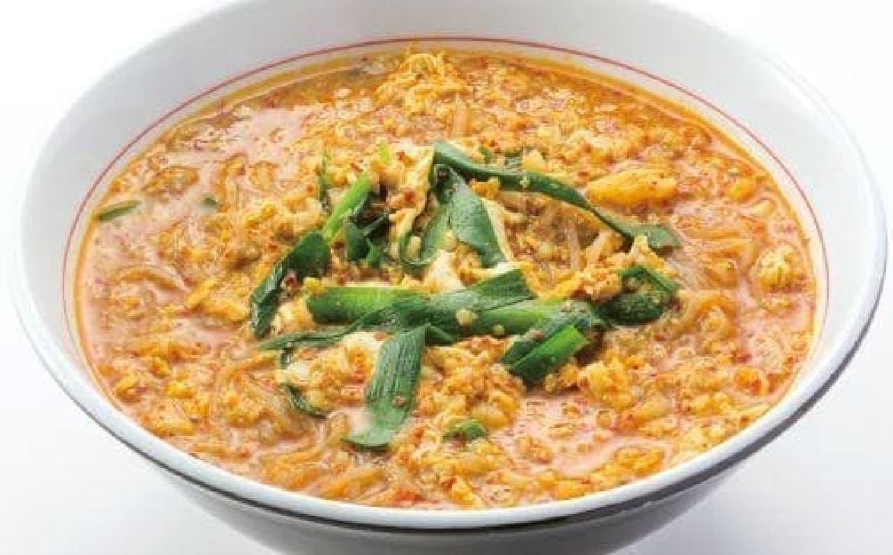 スパイシーな「カレー辛麺」
