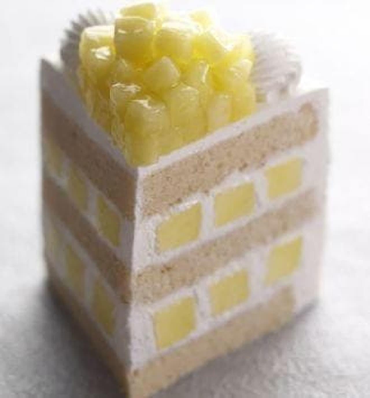 「エクストラスーパーメロンショートケーキ」